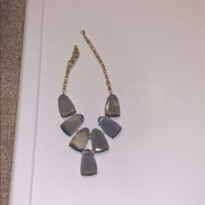 Kendra Scott grey necklace in perfect condition